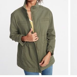 Old navy army scout utility jacket ps